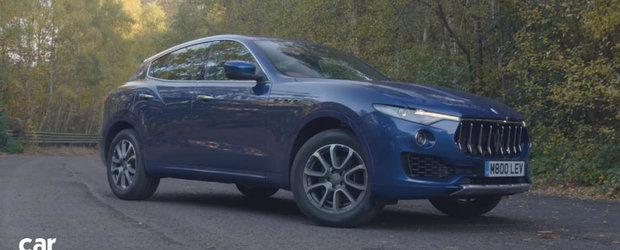 Testul care iti arata daca SUV-ul Levante este demn de coroana Maserati