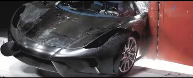 TESTUL pe care Euro NCAP nu il va face niciodata. Uite cum rezista la impact o masina... Koenigsegg