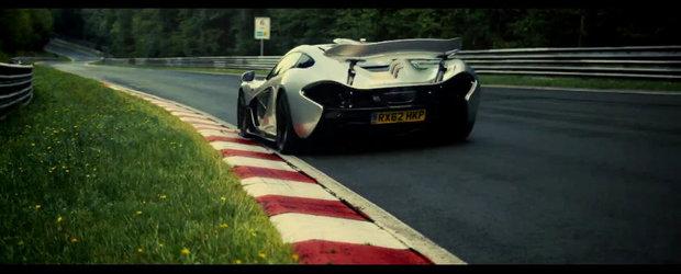 Testul suprem: Noul McLaren P1 da piept cu Iadul Verde