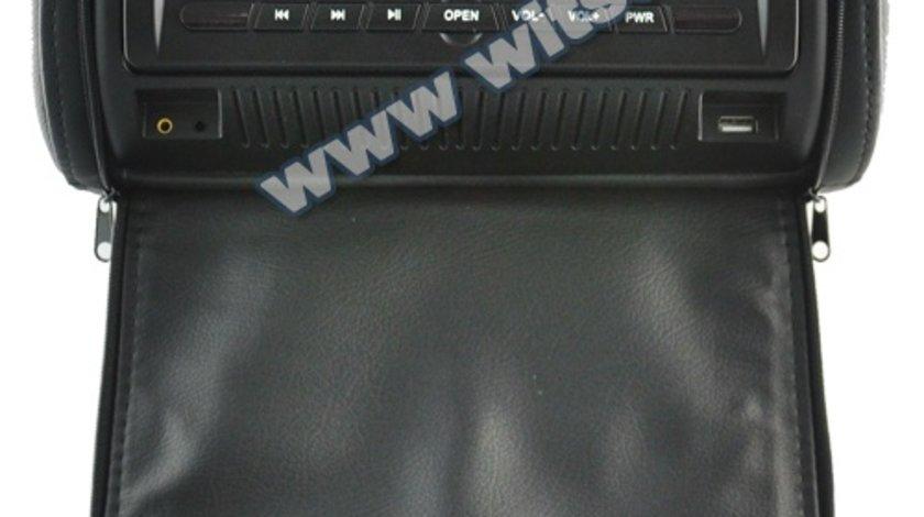 TETIERE CU DVD WITSON W2-D860D NEGRE GRI CREM LCD 7'' USB SD JOCURI