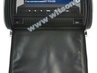 TETIERE CU DVD WITSON W2-D860D NEGRE LCD 7'' USB SD PLAYER FUNCTIE JOCURI JOYSTICK WIRELES INCLUS MONTAJ PROFESIONAL IN TOATA TARA !