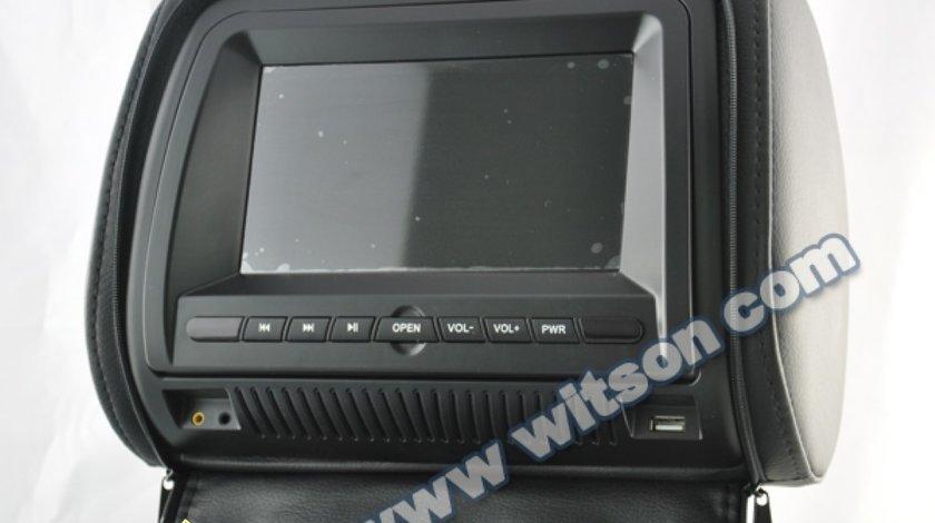 TETIERE CU DVD WITSON W2 D860D NEGRE LCD 7'' USB SD PLAYER FUNCTIE JOCURI JOYSTICK WIRELES INCLUS MONTAJ PROFESIONAL IN TOATA TARA !