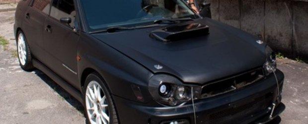 The Big Black: Subaru Impreza by SRZ