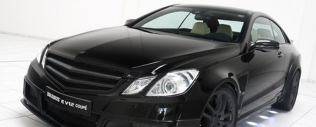 The Black Rocket: Brabus E V12 Coupe