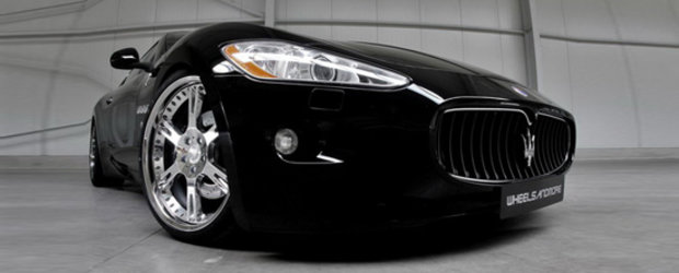 The Italian Job: Wheelsandmore modifica noile Maserati Quattroporte si Granturismo