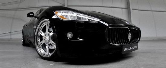 The Italian Job: Wheelsandmore modifica noile Maserati Quattroporte si Granturismo