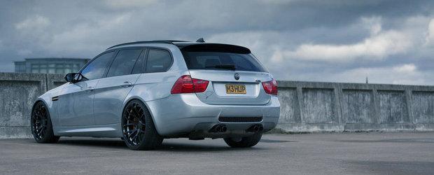 The Ultimate Touring Machine: Povestea BMW-ului 318i transformat in M3 Break