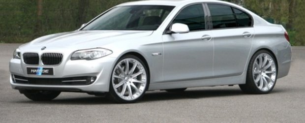The Ultimate Tuning: Hartge modifica noul BMW Seria 5