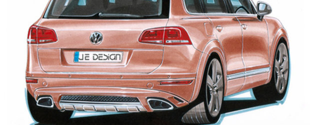 The Wide Body Theory: VW Touareg by Je Design