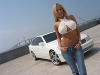 Click image for larger version  Name:White_car_and_hot_babe_10888.jpg Views:596 Size:142.8 KB ID:1164788