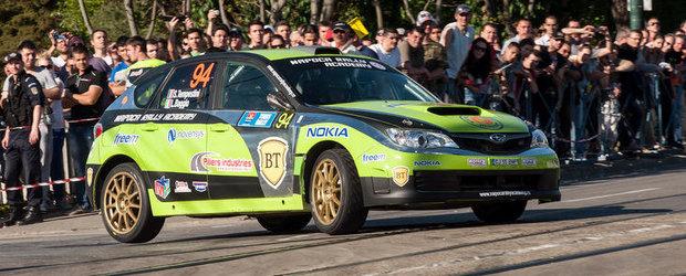 Timis Rally - Un nou pas facut de Napoca Rally Academy pentru pastrarea titlului