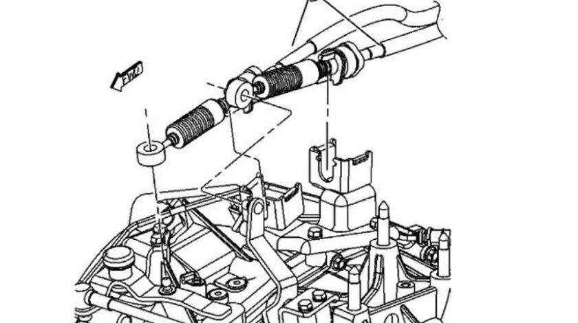 Timonerie cutie viteza Jeep Compass/Patriot (cv manuala motor diesel) CHRYSLER OE 05062125AB