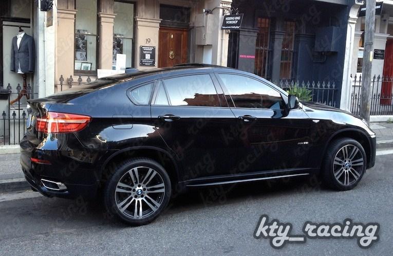 TIPSURI TOBA BMW X6 E71 + ORNAMENTE BARA SPATE