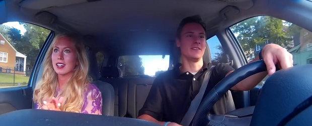 Tipul asta conduce cu Uber si isi filmeaza aventurile nebune cu pasageri de toate felurile