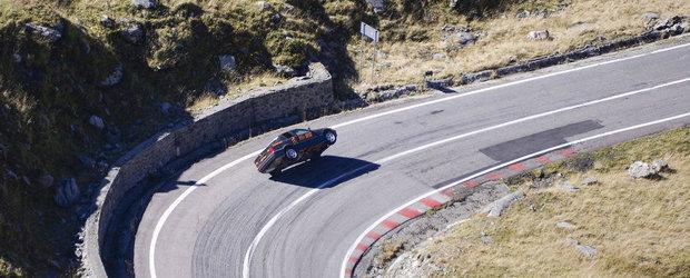 Titi Aur urca Transfagarasanul pe 2 Roti, cu un BMW. FOTO si VIDEO
