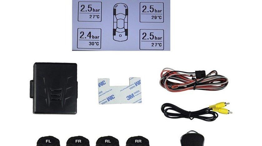 TMPS Sistem Video De Afisare - Monitorizare Presiune In Pneuri