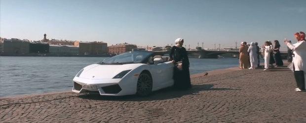 Toata lumea crede ca-i bogat si conduce un Lamborghini dar, in realitate, masina lui costa cat o Dacie. VIDEO ca sa te convingi si singur