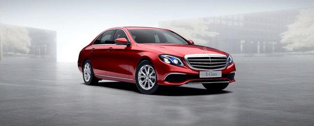 Toate culorile noului Mercedes E-Class. PLUS cat costa fiecare in parte