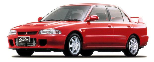 Toate generatiile de Mitsubishi Lancer EVO: care ti se pare cea mai reusita?