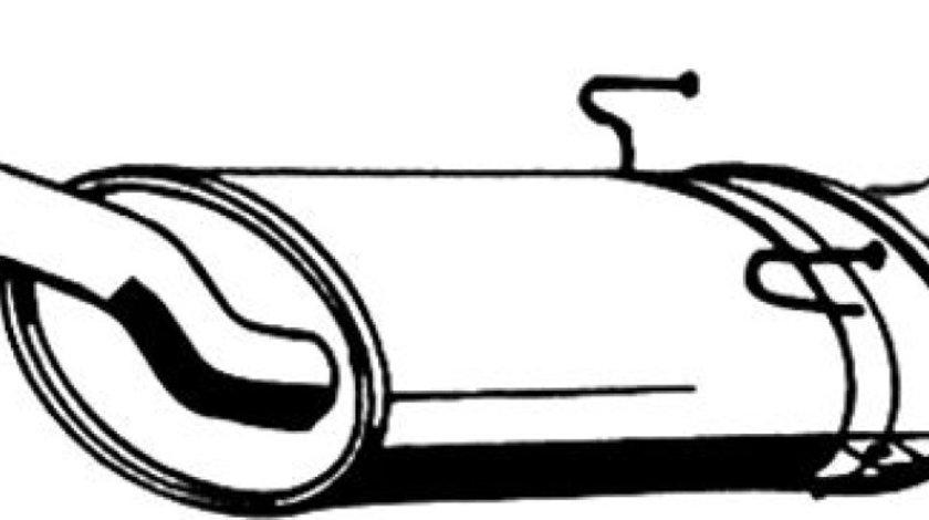 Toba esapament finala FIAT SCUDO Combinato 220P Producator ASMET 09.073