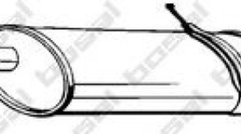 Toba esapament finala MERCEDES A-CLASS (W168) (1997 - 2004) BOSAL 289-031 produs NOU