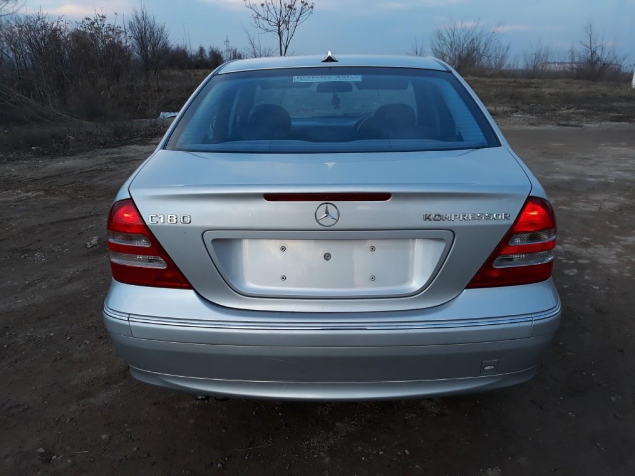 Toba esapament finala Mercedes C-CLASS W203 2004 berlina 1.8