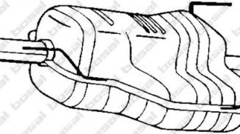 Toba esapament finala OPEL ASTRA G Combi (F35) (1998 - 2009) BOSAL 185-441 piesa NOUA