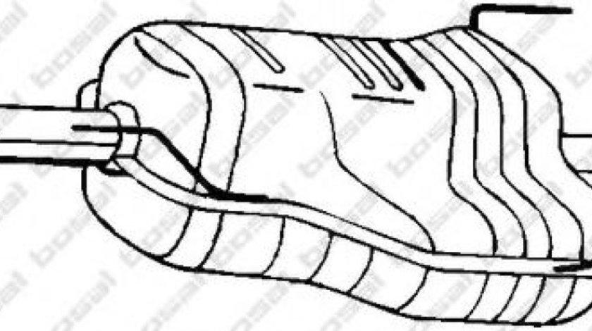 Toba esapament finala OPEL ASTRA G Combi (F35) (1998 - 2009) BOSAL 185-551 piesa NOUA