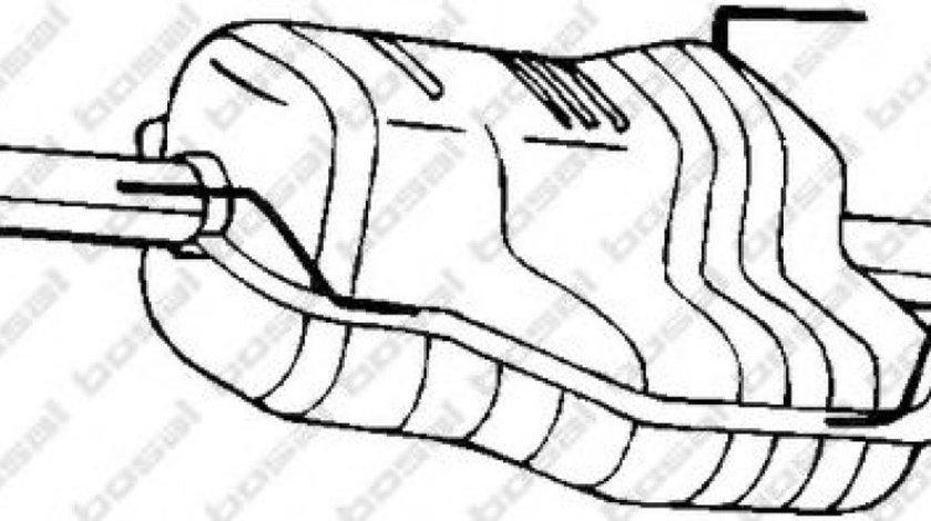 Toba esapament finala OPEL ASTRA G Combi (F35) (1998 - 2009) BOSAL 185-491 piesa NOUA