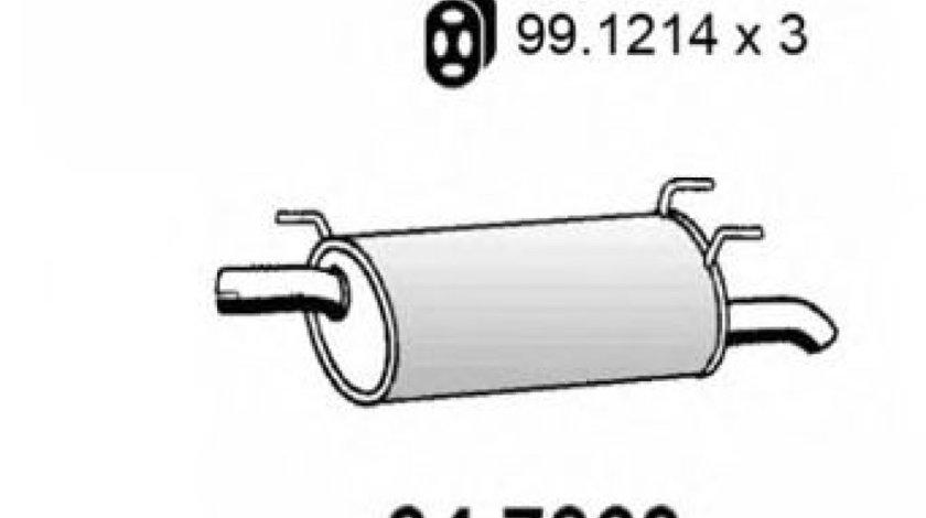 Toba esapament finala OPEL ASTRA G Combi (F35) (1998 - 2009) ASSO 34.7063 piesa NOUA