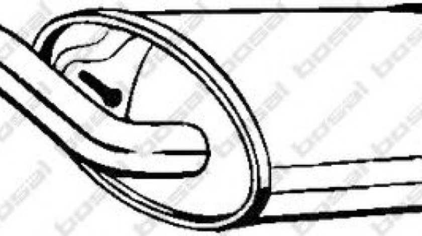 Toba esapament finala TOYOTA COROLLA Verso (ZDE12, CDE12) (2001 - 2004) BOSAL 228-489 piesa NOUA