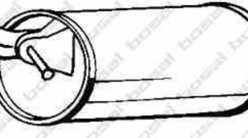 Toba esapament finala TOYOTA YARIS VERSO NLP2 NCP2 BOSAL 228-189
