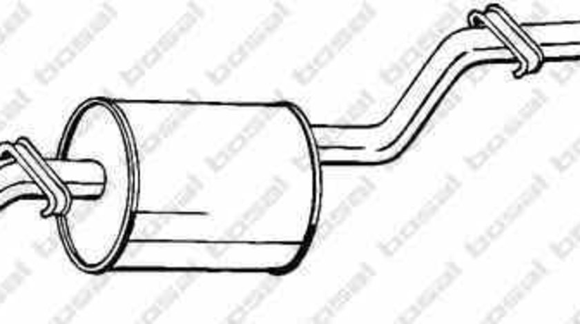 Toba esapament finala VW CADDY I 14 BOSAL 285-413