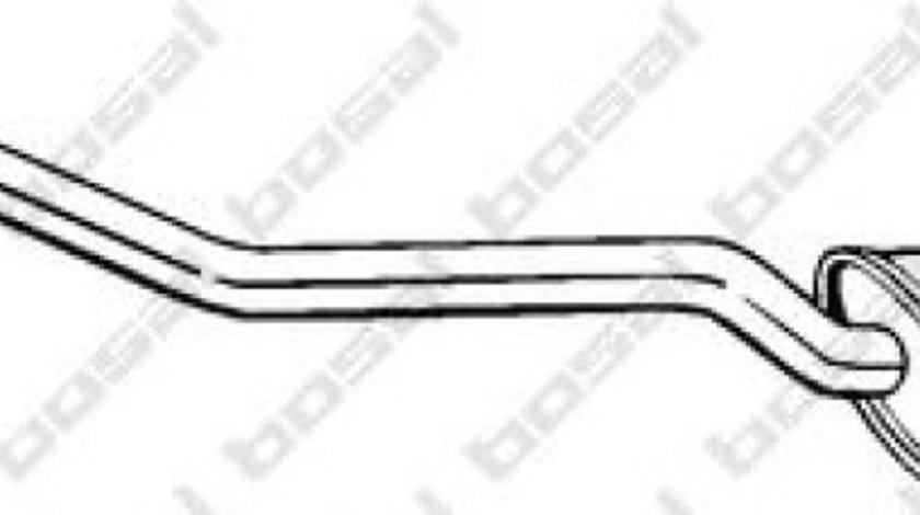 Toba esapament intermediara BMW Seria 1 (E87) (2003 - 2013) BOSAL 290-001 piesa NOUA