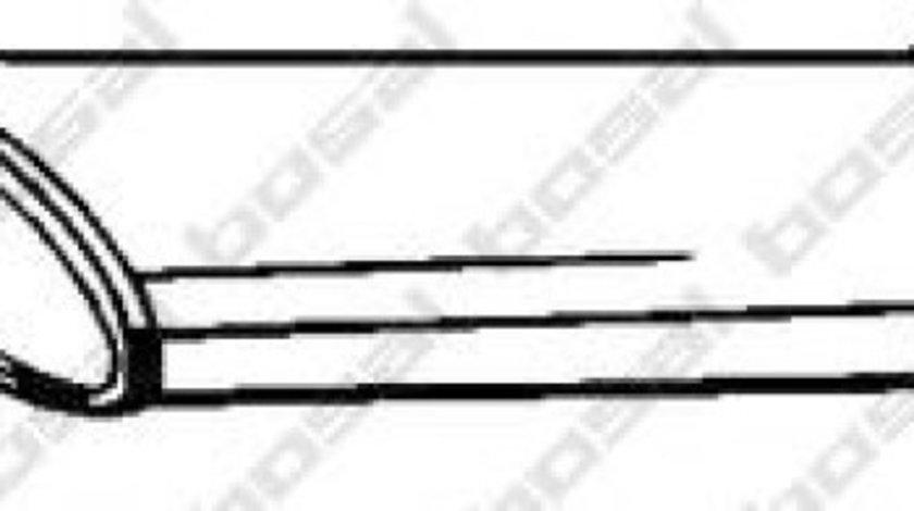 Toba esapament intermediara VW TOUAREG (7LA, 7L6, 7L7) (2002 - 2010) BOSAL 279-917 produs NOU