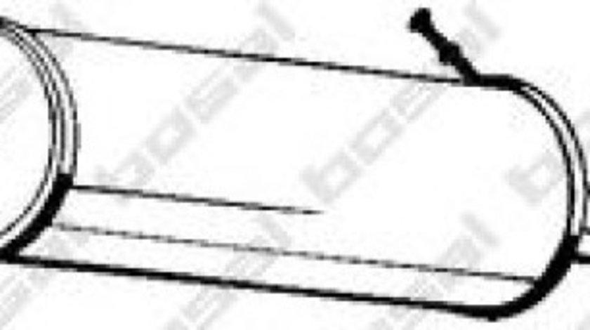 Toba esapamet intermediara SEAT ALHAMBRA (7V8, 7V9) (1996 - 2010) BOSAL 288-305 produs NOU