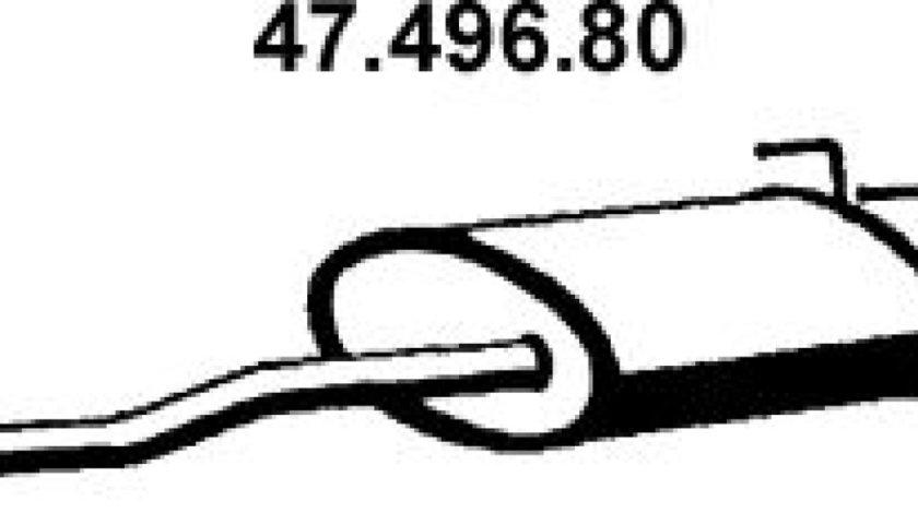 Toba esapamet intermediara TOYOTA LAND CRUISER 90 J9 Producator EBERSPÄCHER 47.496.80