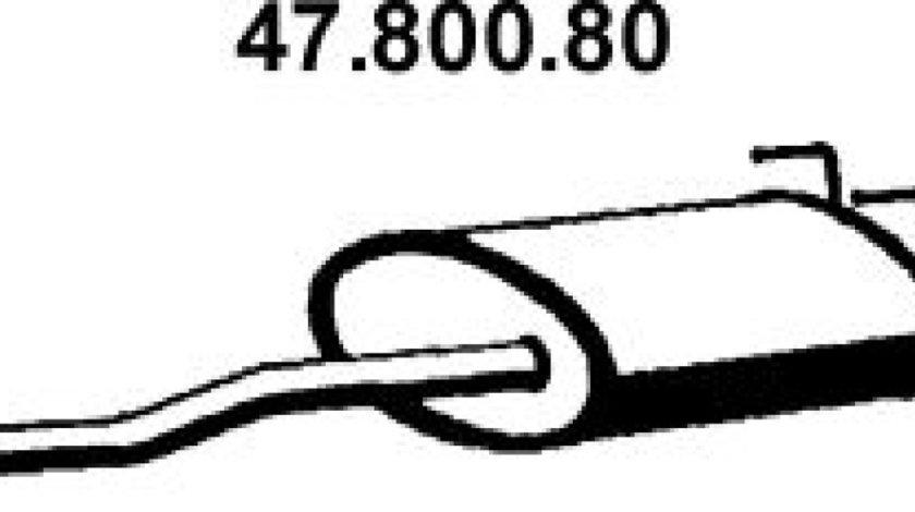 Toba esapamet intermediara TOYOTA LAND CRUISER 90 J9 Producator EBERSPÄCHER 47.800.80