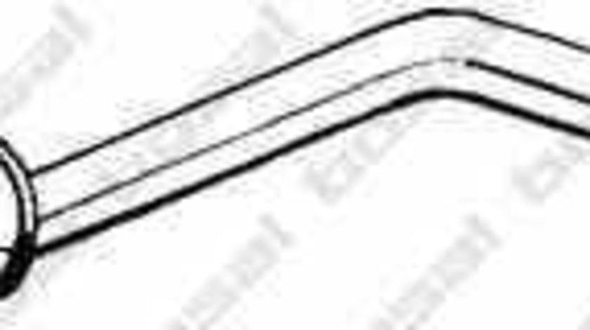 Toba esapamet intermediara VW GOLF I Cabriolet 155 BOSAL 282-531