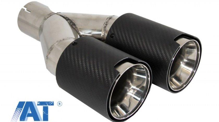 Toba Ornament Sistem de evacuare Carbon Fiber Finisaj Mat LH 6