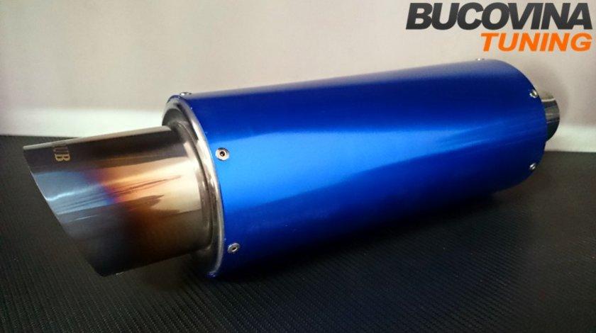 TOBA SPORT INOX CU SILENCER - 250 LEI