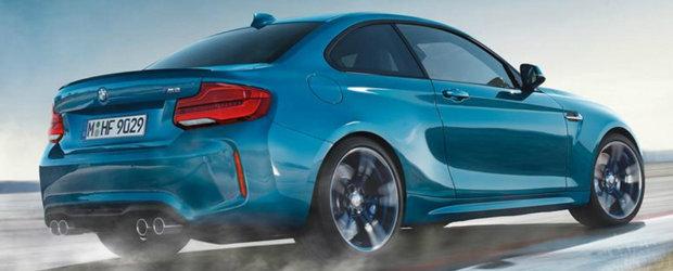 Tocmai ce-au ajuns pe internet. Acestea sunt primele imagini oficiale ale noului BMW M2 Coupe!