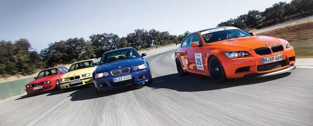 Top 10 cele mai interesante masini BMW cu sigla M la care visam
