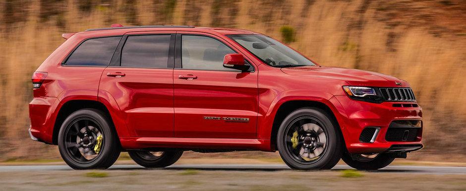 Top 10 cele mai puternice SUV-uri pe care le poti cumpara in 2018