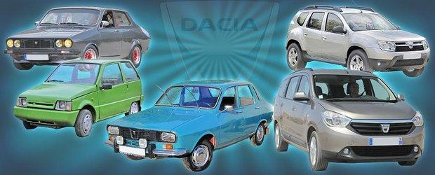 Top 10 cele mai tari masini Dacia fabricate vreodata