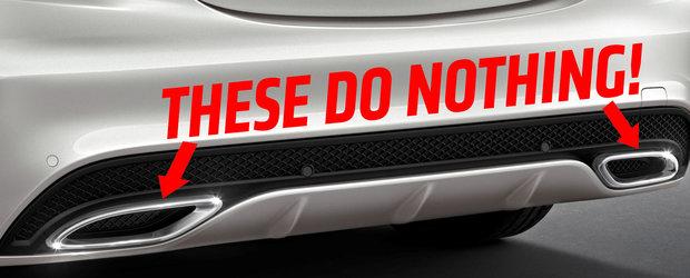 TOP 10 detalii care fac masinile noi sau vechi sa arate complet stupid