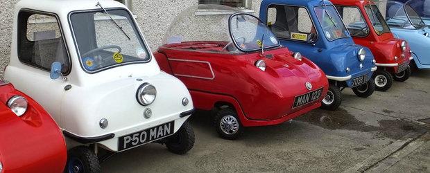 Top 12 cele mai ciudate automobile cu 3 roti fabricate vreodata
