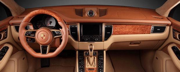 TopCar isi face de cap cu interiorul noului Porsche Macan