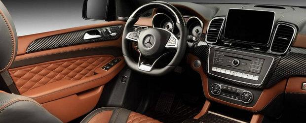 Topcar lanseaza pachetul de tuning pentru Mercedes-ul GLE 63. Si nu e ieftin deloc