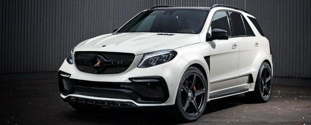 TopCar revine asupra Mercedes-ul AMG GLE. Rusii renunta la fibra de carbon dar pastreaza pretul piperat